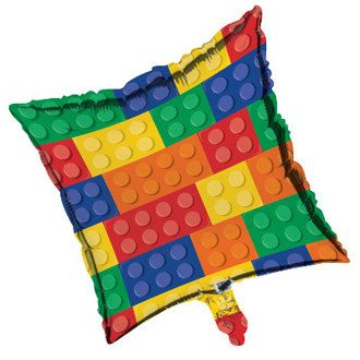 Lego Balloon/ Lego Birthday Balloon/ Lego Birthday Party/ Lego Party Decorations