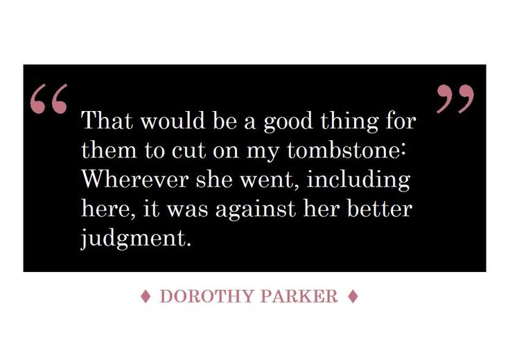 The 25+ best Dorothy parker ideas on Pinterest Black martini - dorothy parker resume