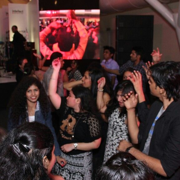 Party at the Lalit Mumbai