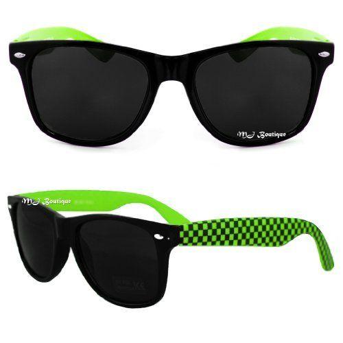 GSHGA Sonnenbrille Clamshell Retro Brille Sonnenbrille Hooked,Goldframegoldreflective