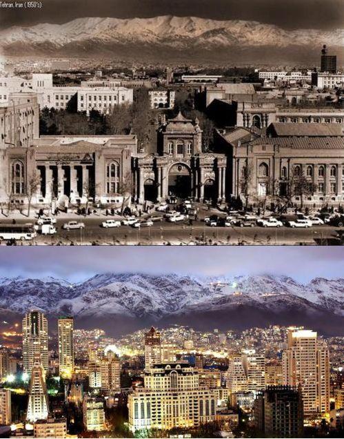 Tehran 1950...Tehran 2012