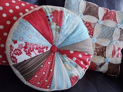 Homemade pillow! Super cute!