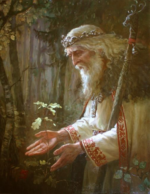 The Old god of the forest by Andrey Shishkin