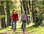 Hooi Hooi! Lekker fietsen door de bossen in hef najaar. FarmCamps boerderijen grenzen vaak aan schitterende wandel en fiets routes. Kijk snel op farmcamps.nl
