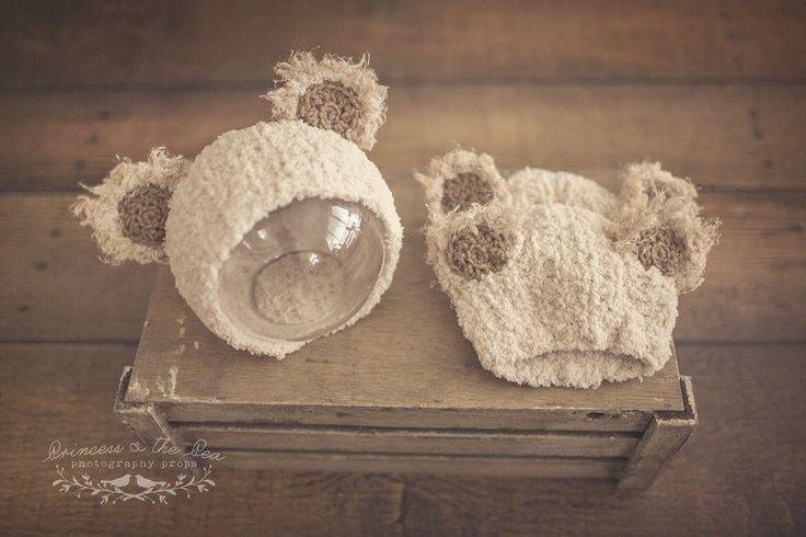 Plush Teddy Bonnets – Princess & the Pea Props