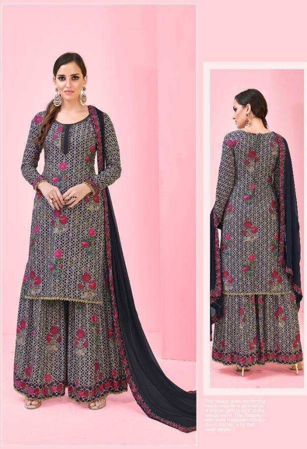 bfc7908804 Deepsy Pankhudi Muslin Cotton Digital Print Suit (7 Pc Set ...