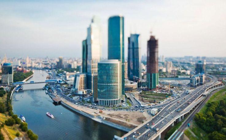 Moscow International Business Center HD Wallpaper