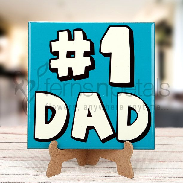 Let this vibrant #table #top say 'love you daddy' on your behalf on coming #fathersday.