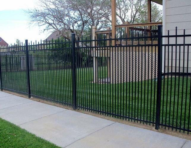 28 Best Metal Fencing Images On Pinterest Fence Design