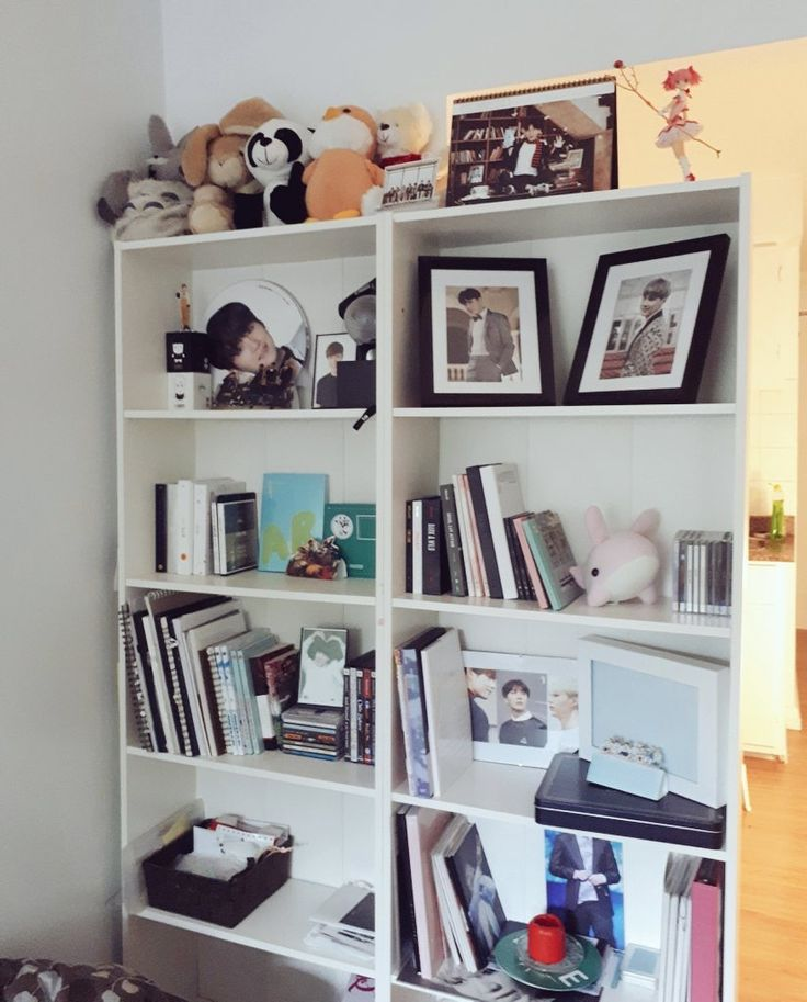 BTS Merch ~ Albums ~ Collection | Army room, Room decor ... on Room Decor Bts id=48773