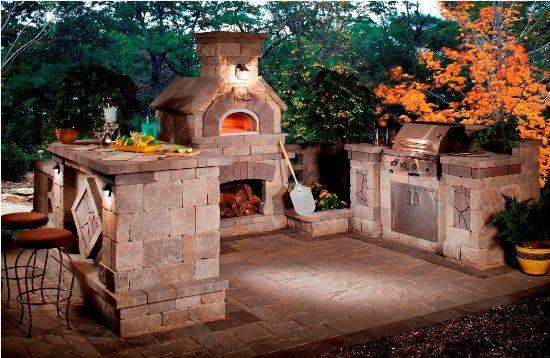 50 Eclectic Outdoor Kitchen Ideas  #outdoorkitchens #outdoorkitchenideas #outdoorkitchenpictures