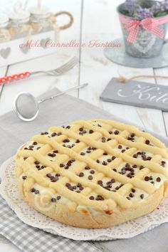 crostata mascarpone