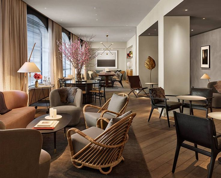 Best 25 hotel lounge ideas on pinterest for Furniture stores in soho new york city