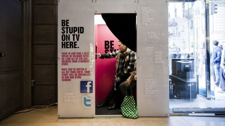 Diesel, Be Stupid Video Confession Booth - winslowporter.com