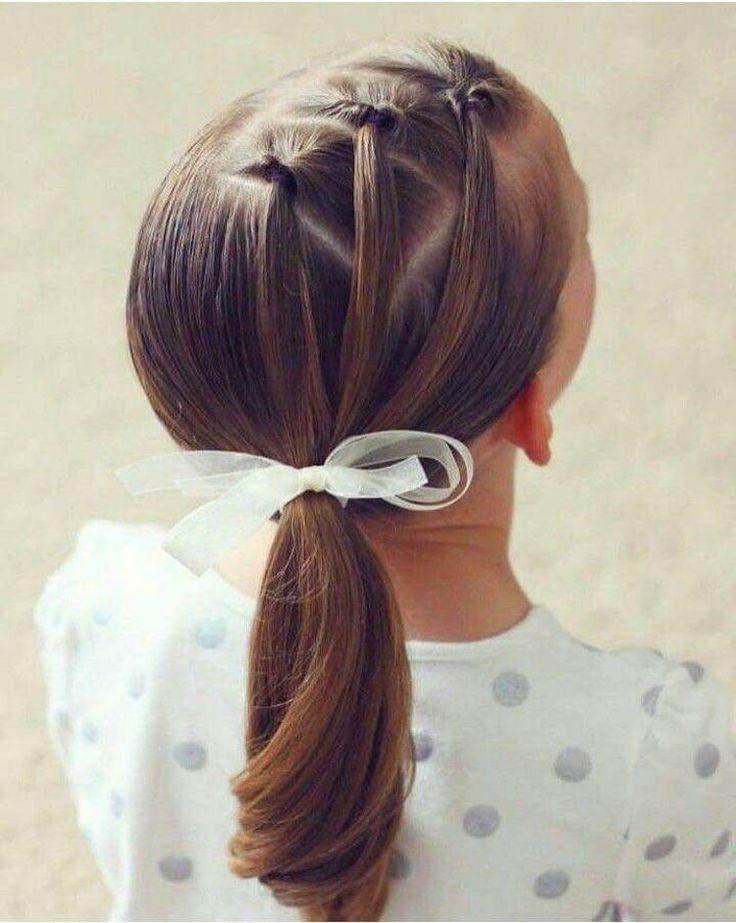 Quelle coiffure pour petite fille adopter en été 2018 ?