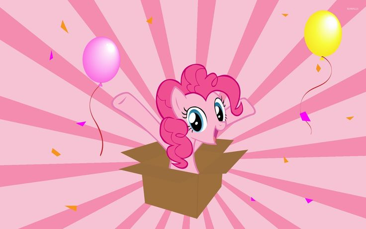 Vintage Pinkie Pie from My Little Pony wallpaper Cartoon