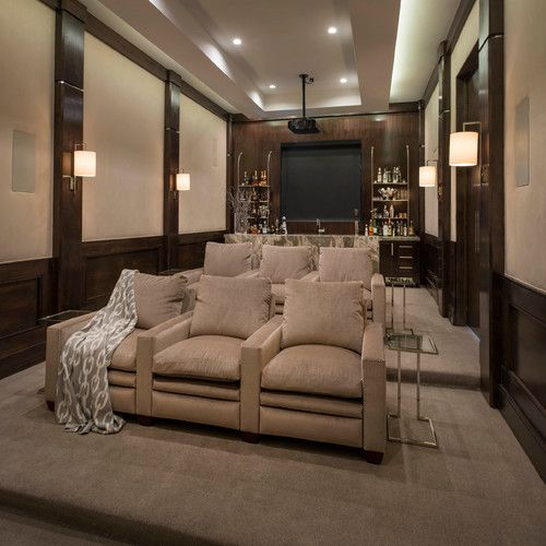 Theater Rooms On Pinterest Home Theatre Home Theaters And Home