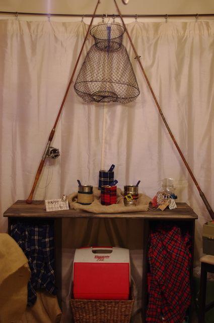Like the fishing decor vacation bible school pinterest for Fishing pole decor