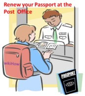 Renew a Passport at the Post Office - wikiHow