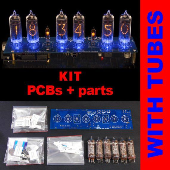 DIY KIT for Shield Nixie tubes clocks IN-14 NCS314  Support