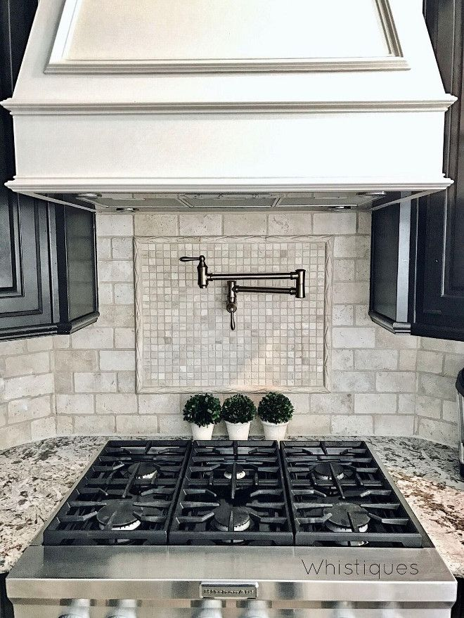 Kitchen Backsplash Border 23 best tumbled backsplash images on pinterest | tumbled stones