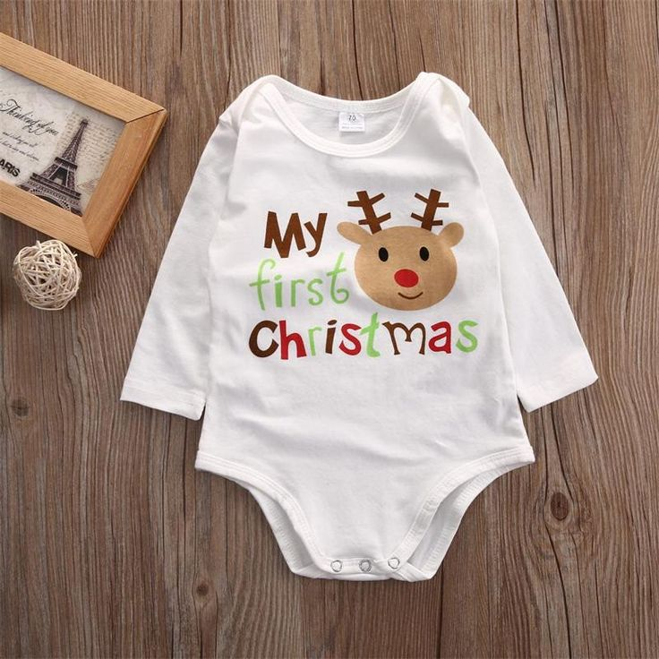 P.S. I Love You More Boutique | My First Christmas Onesie | Trendsetting Women's Fashion Boutique