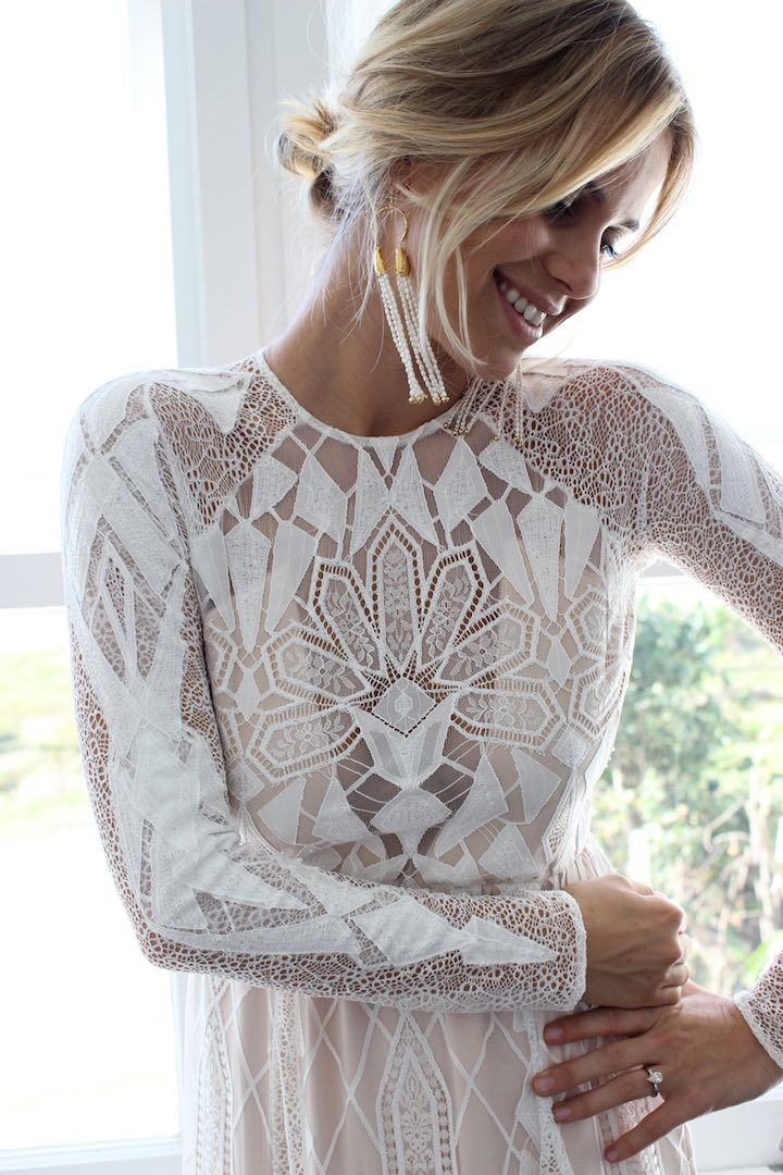 A Grace Loves Lace é uma designer australiana especialista em vestidos de noiva com renda.