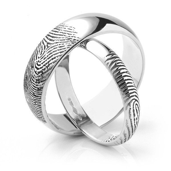 Best 25 Fingerprint wedding bands ideas on Pinterest
