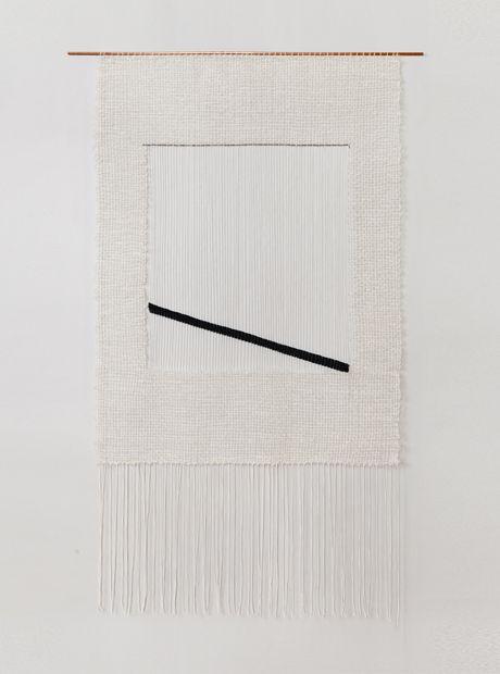 Diagonal Bar weaving by Brook & Lyn