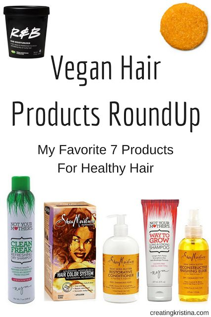 Looking for cruelty-free vegan beauty products? Here's a list of my 7 favorite products for healthy hair.