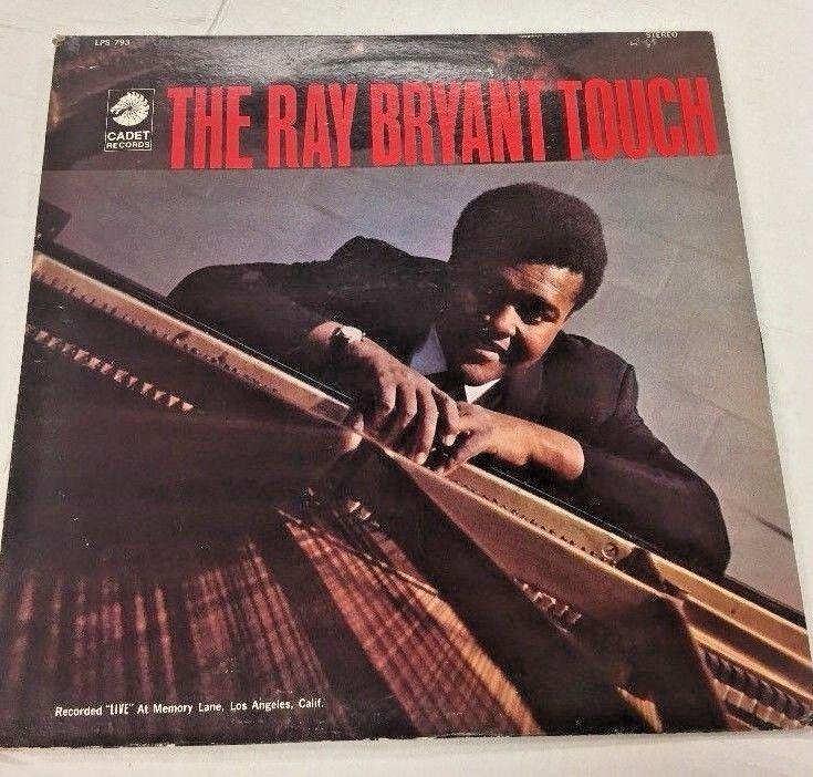 RAY BRYANT THE RAY BRYANT TOUCH  CADET RECORDS JAZZ LP LPS793