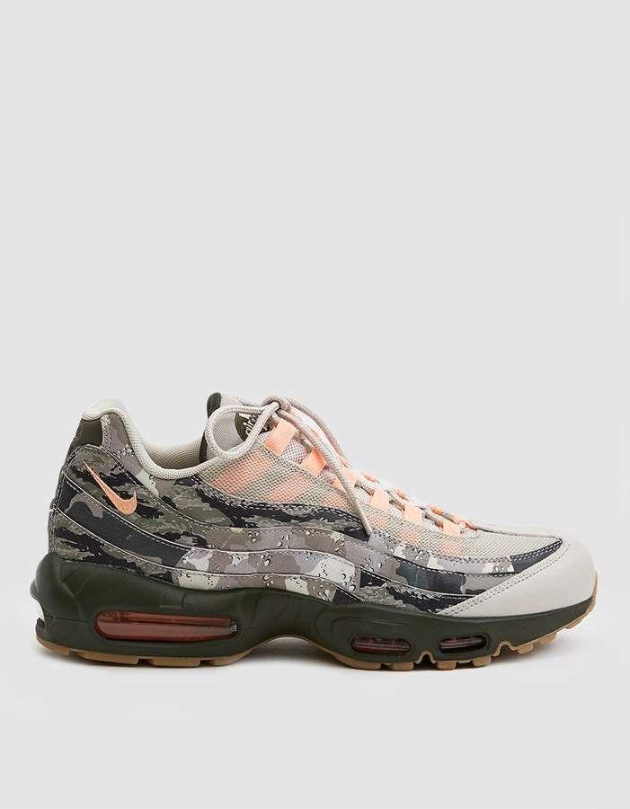 2ff751b3 Nike / Air Max 95 Essential Sneaker in Desert Sand/Sunset Tint/Black ...