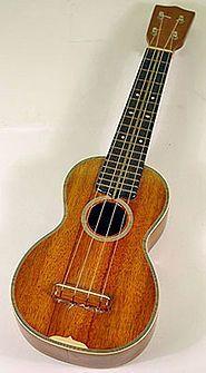 Ukulele (havajsky ʻukulele) je drnkací nástroj podobný kytaře. Obvykle má 4 struny, někdy má také 6 strun. Vyrábí se ve čtyřech velikostech Soprano, Concert, Tenor, a Baritone.