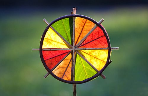 4 Colour Sunwheel  By Richard Shilling