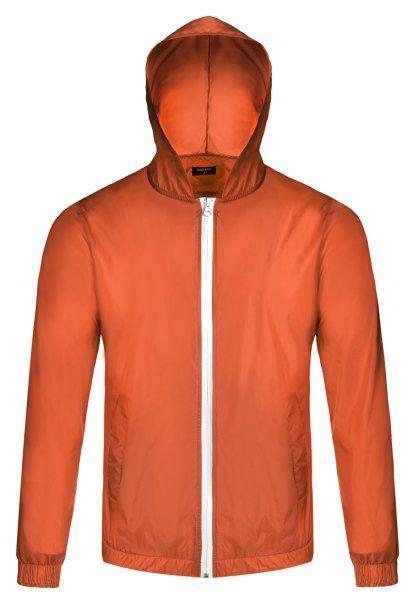 Coofandy Herren Wasserdichte Atmungsaktiv Leichte Windbreaker Jacke Regenjacke…