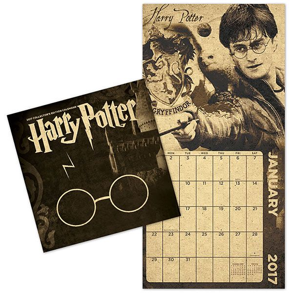 Inspirational Harry Potter 2017 collectors edition calendar found at Think Geek New - New b&b italia lunar sofa bed Plan