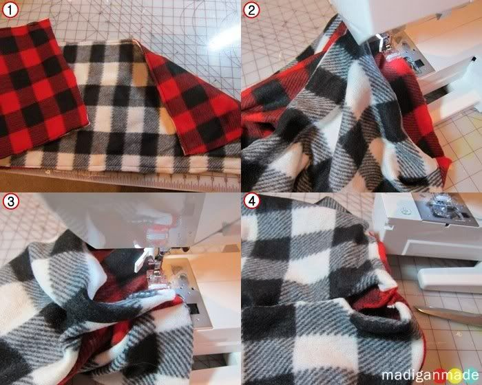 How To Sew A Reversible Cowl Scarf Madigan Made Simple