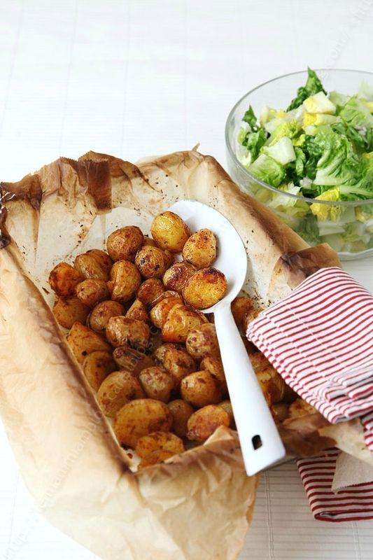 petites pommes de terre roties 000001 LE MIAM MIAM BLOG