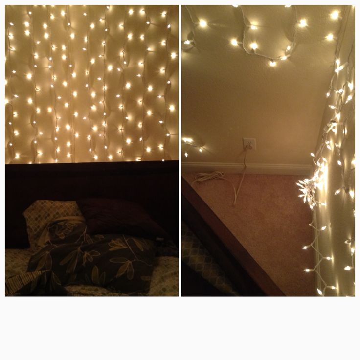 String Lights On Bed : 17 Best images about Christmas lights- not just for Christmas anymore! on Pinterest Starry ...