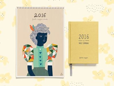 Here's some good news: the 2016 frankie diary and calendar are now available for pre-order!