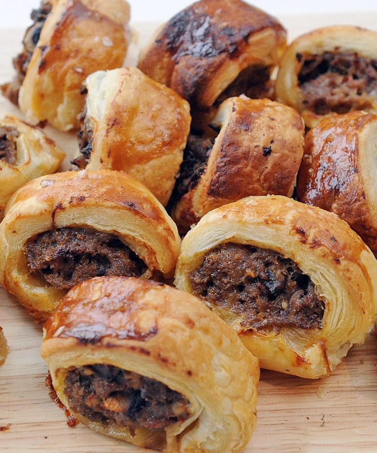 Sausage rolls but with a twist - beef sausage and horseradish makes an excellent change!