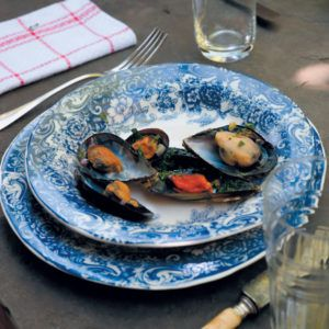 Mussels, White Wine and Parsley #Seafood #Recipe #SouthAfrica