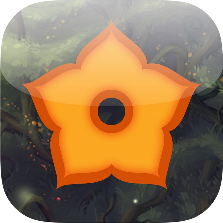 """Baum"" Game Icon By A Fox Wot I Drew  #Baum #Gamedev #Indie Game #Video Games #Art #GameDesign #Design #Trees #iOS"