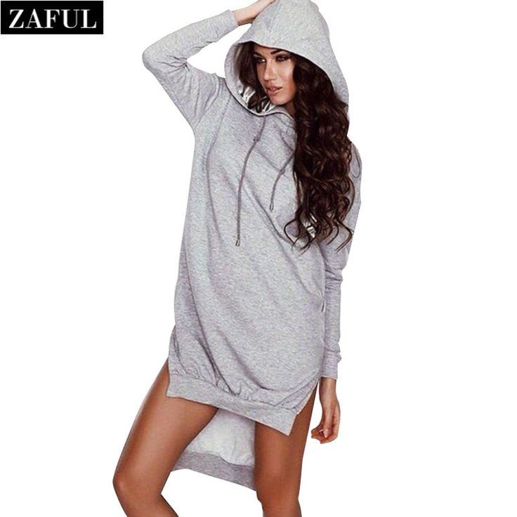Aliexpress.com : Buy ZAFUL New Arrival Women Winter Hooded Dress Stylish  Casual Long Sleeve