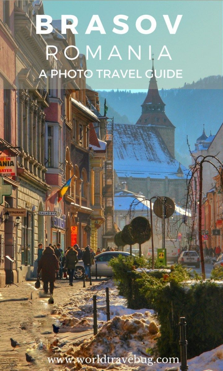 From pastel coloured houses, to vibrant cobbled streets, old style charm floating around the city to modern shops, cafes and restaurants, Brasov will certainly not disappoint