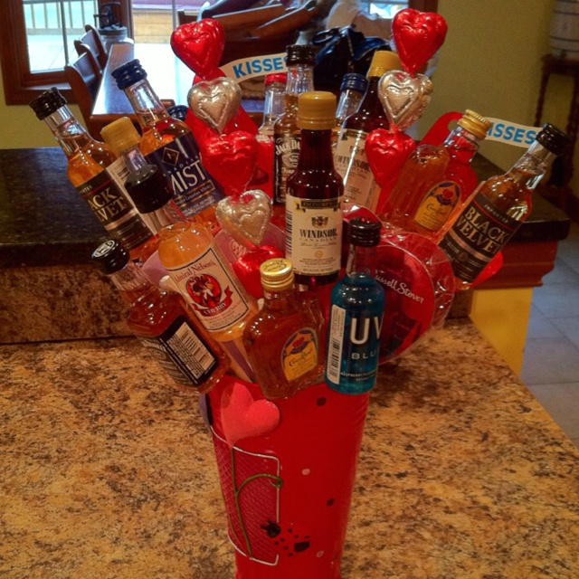 The Ultimate Valentine Man Bouquet!