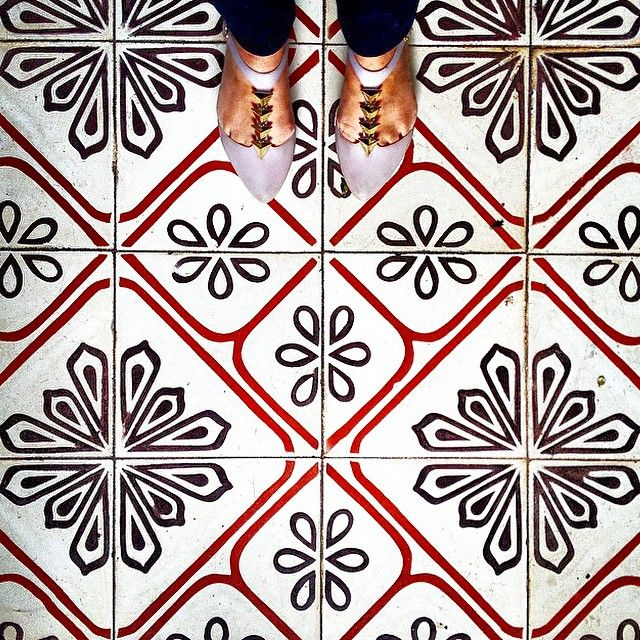 i have this thing with floors - beach house tile studio