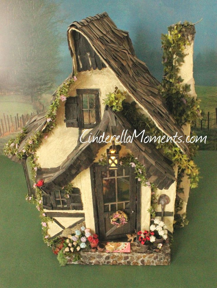Cinderella Moments: Cozy Cottage: Someone's Moved In!
