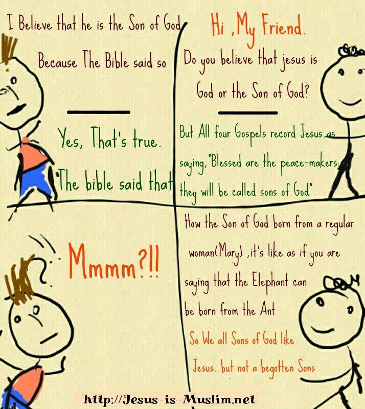 Jesus is Muslim, he is not God or Son of God. #Allah #Quran #holyspirit #holyghost #Bible #biblequotes #bibleverse #dailybible #truth #faith #God #Lord #gospel #trinity #islam #salvation #tawheed #shirk #wisdom #quotes #quotes #Massiah #HolyQuran #Jesus #jesusislord #jesusissavior #jesussaves #jesusloves #christians #christianity #islam #Prophet #Muhammad  http://jesus-is-muslim.net