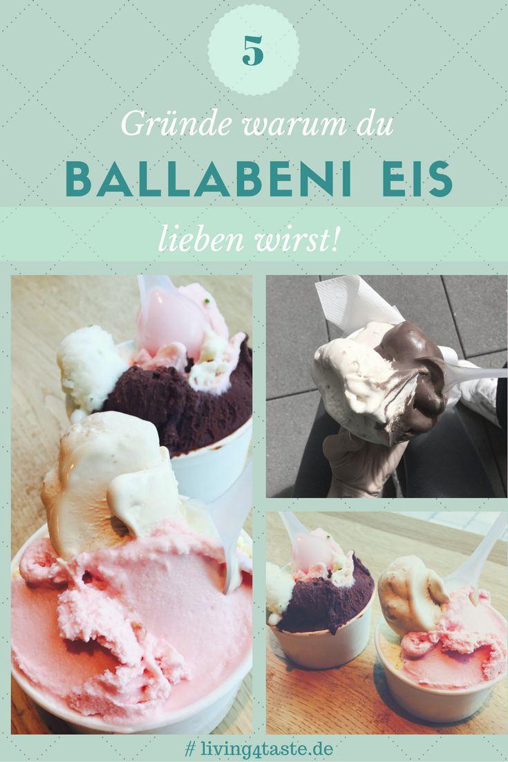 Das leckere Ballabeni Eis aus München ist schon fast legendär! Diese Eiscreme ist so fantastisch. Ganz besonders zu empfehlen ist das Schokoladen Eis. Aber das ist nicht die einzige Sorte, warum du unbedingt dieses Eis versuchen solltest...